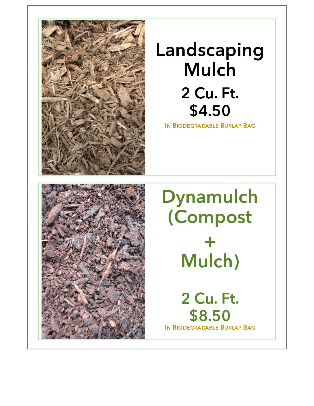 Compost & Mulch